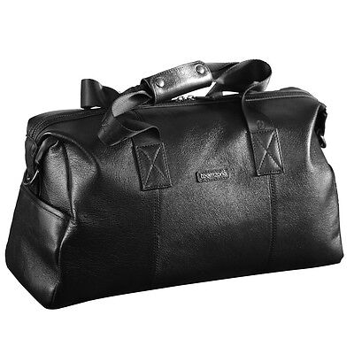 Mens Genuine Leather Cowhide Duffle Gym Luggage Hunting Travel Suitcase Holdall