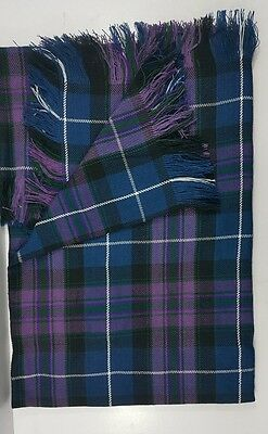Pride Of scotland Fly Plaid Fringed From All Sides. 13oz.