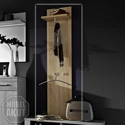 garderobenpaneel flur garderobe schmal 35 cm h he 180cm sonoma eiche holz dekor eur 63 48. Black Bedroom Furniture Sets. Home Design Ideas