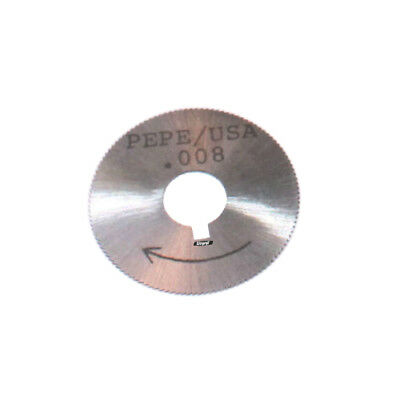 """Rotary Cutter Saw Blade Replacement 1-1/4"""" For Jump Ring Maker Jewelry Metal"""