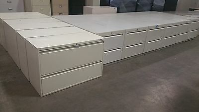 LATERAL STYLE FILE CABINETS, 2 and 3 DRAWER (key available)