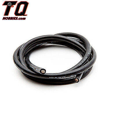 Dynamite 8856 12AWG Silicone Wire 3 Black Losi Tekno Assciated Ships wTrack#