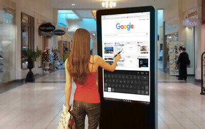 "Touch Screen Computer Kiosks with Built-In 42"" Monitor"