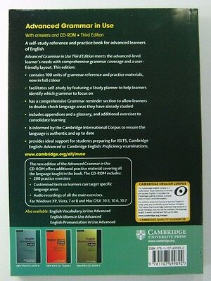 ADVANCED GRAMMAR IN USE MARTIN CAMBRIDGE EDITION IT HASN'T CD With out CD-ROM
