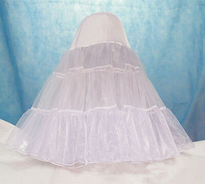 Crinoline Underskirts Vintage Rockabilly Retro Wedding Petticoat Fancy Net Skirt