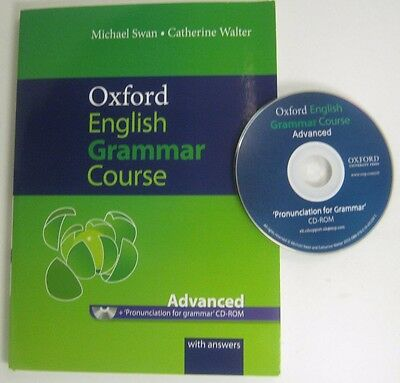 Oxford English Grammar Advanced Curse Basic Pronunciation  With Cd-Rom , Answers