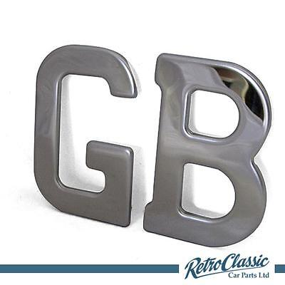 Stainless steel GB letters, 85mm
