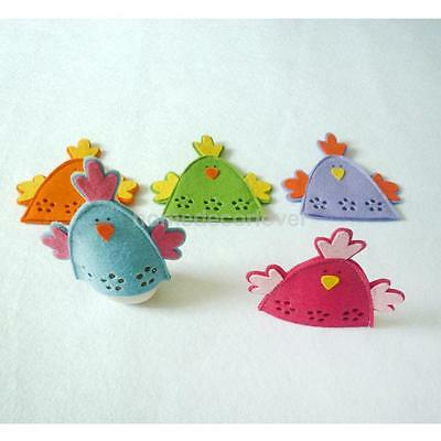 4pcs Cute Chick Easter Egg Covers Wrap Holder Decoration Ornament Gift