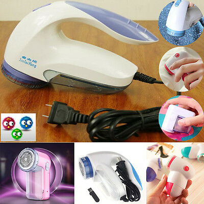 Premium Portable Electric Lint Pilling Fluff Remover Sweaters Shaver Cleaning