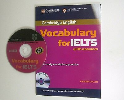 Cambrdge English Vocabulary for IELTS with answers Self-Study Vocabulary with CD