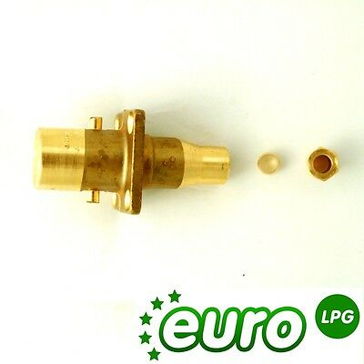 LPG Autogas Bayonet Filler Straight UK Bayonet filling point to 8mm - Straight