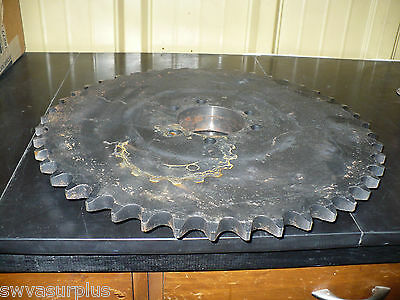 Martin 100E45 QD Bushing Bore Roller Chain Sprocket, New