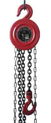1 TON Manual Chain Hoist 2000 Lb 8 Ft Lift Winch Engine Hoists Rigging System