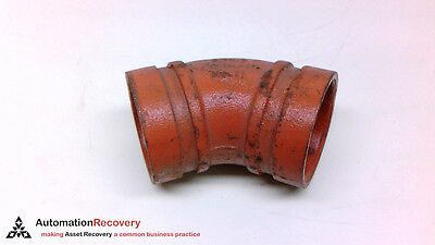 Victaulic No. 11, 2/60.3 45 Degree Elbow Fitting #210703