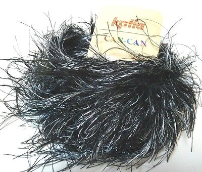 Katia - Can-Can Extra Long/Thick Eyelash #5910 Black & Silver
