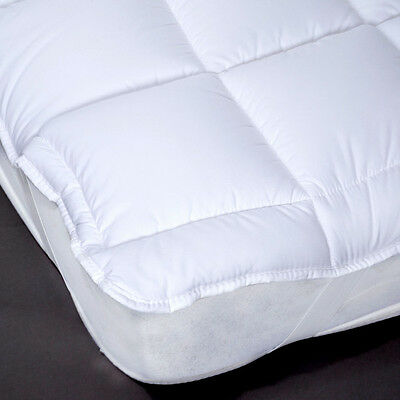 Luxury  Hollowfibre Mattress Topper - Single/Double/King EXTRA FILLED