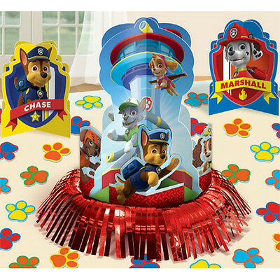 23pc Paw Patrol Table Decoration Kit Boys Birthday Party Favor Supplies