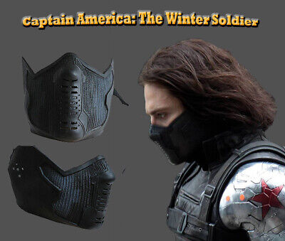 Captain America 2 Winter Soldier Cosplay Latex Mask