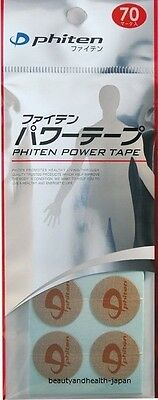 Japan Phiten Power Tape/patches 70 Mark Titanium Beauty&health Care