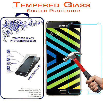 For Samsung Galaxy A9 [Tempered Glass] Screen Protector 9H Hardness 2.5D