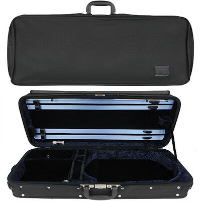"GEWA Concerto Oblong Viola Case for 14-16"" (inch) Size Viola Blue/Black"