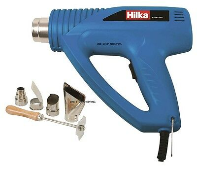 Heavy Duty Hilka 2000W Hot Air Heat Gun Paint Wallpaper Stripper Remover