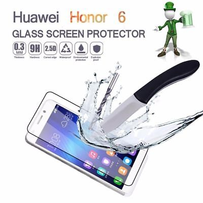 2 x Genuine Tempered Glass 9H Screen Protector Real Glass For Huawei Honor 6