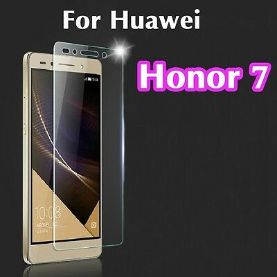 2 x Genuine Tempered Glass 9H Screen Protector Real Glass For Huawei Honor 7
