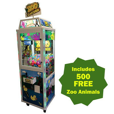 Coast to Coast Zoo Catcher Crane Machine - with DBA