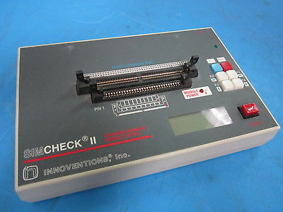 SIMCHECK 2 II Advanced Memory Module Tester by Innoventions Inc.