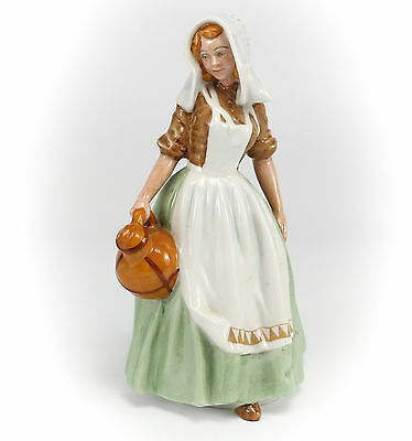Royal Doulton Porcelain Figurine, 'The Milkmaid'  HN2057 Hand Painted