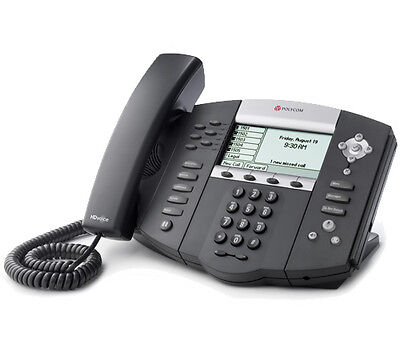 Polycom 2200-12651-001 SoundPoint IP 650 Corded VoIP 6-Line Phone New
