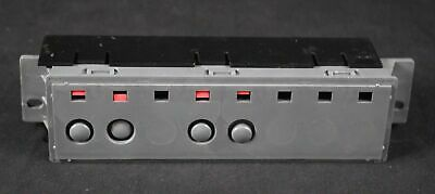 Ge - Wd21X10266 165D5576P032 Control Switch Dishwasher 4 Button Switch