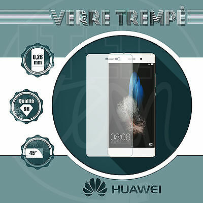 Film Protection Vitre Verre Trempé Huawei P20 Pro Lite Mate Y6/Y7 Psmart... Lot