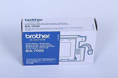 Genuine Brother BA-7000 battery for P-Touch PT-7600 VAT  Brand New