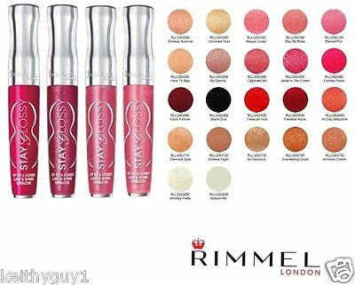 Rimmel Stay Glossy Lip Gloss Up To 6HR Choose Color  RRP £7.99 | Lipstick UK