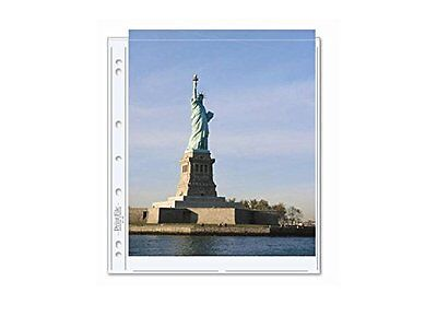 Print File 811-2P (25 Sheets) Archival Photo Pages, Fits 2 8.5x11 Shts per Page