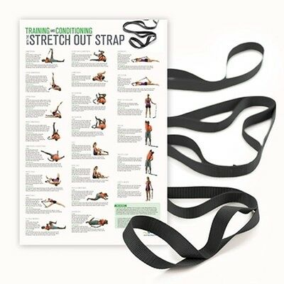 OPTP Extra Long Stretch Out Strap w/ Poster - #440PST