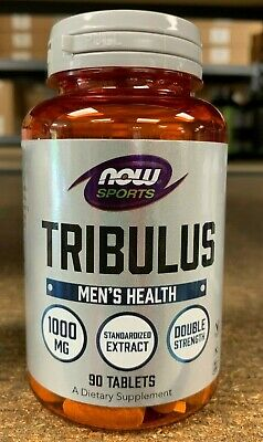 Now Foods Tribulus 1000 mg (90 Tabs) 45% Saponins - ***Free Shipping***