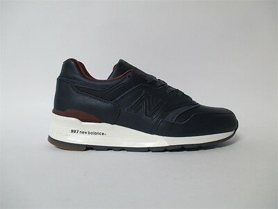 New Balance 997 Bespoke Horween Made in USA Navy Brown Sz 7.5 M997BEXP d481be3d6cd4