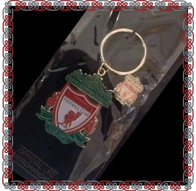 Liverpool Official Keyring And Stud Badge Set - Great Gift Idea!