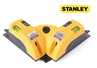 STANLEY FatMax CST/Berger 77-198 S2X HIGH POWERED LASER SQUARE LEVEL 4x BRIGHTER