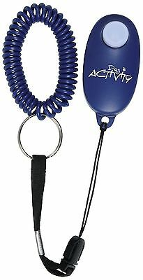 Soft Clicker & Wristband Lanyard for Pet Training Dog Cat Rabbit Bird