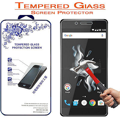 For OnePlus X [ Tempered Glass ] Screen Protector 9H Hardness 2.5D