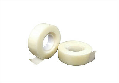 Ultratape 2 x Rolls Invisible 19mm x 33m Tape Photocopy Proof