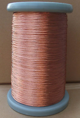 Litz Wire 5/32 Enameled copper wire twisted-pair AWG32 X 5 Strands #A37E LW