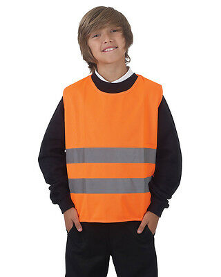 Yoko HVS269CH High Visibility Childrens Safety Tabard, Hi Vis Tabard, 2 Colors