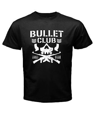 NEW JAPAN PRO WRESTLING NJPW BULLET CLUB Logo Mens S to 3XL cotton