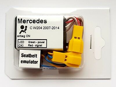 Seat Occupancy Mat Bypass MERCEDES C-CLASS W204 2007-2014 SRS Sensor Emulator