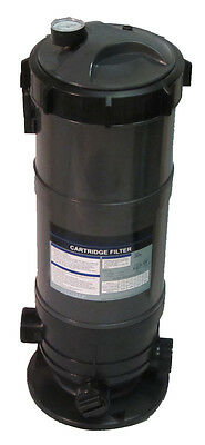 Cartridge Filter System with Pressure Gauge for Swimming Pools 90SF